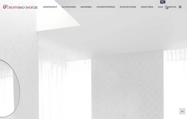 Vorschau von www.creativbad-shop.de, CreativBad-Shop.de