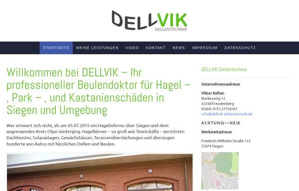 Vorschau von dellvik-dellentechnik.de, Dellvik Dellentechnik