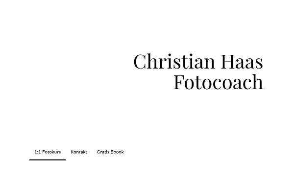 Vorschau von www.christian-haas-foto.de, Christian Haas Fotocoach