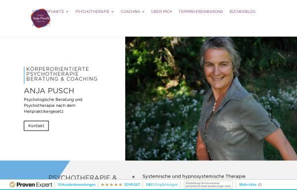 Vorschau von www.anja-pusch.de, Anja Pusch - Heilpraktikerin für Psychotherapie