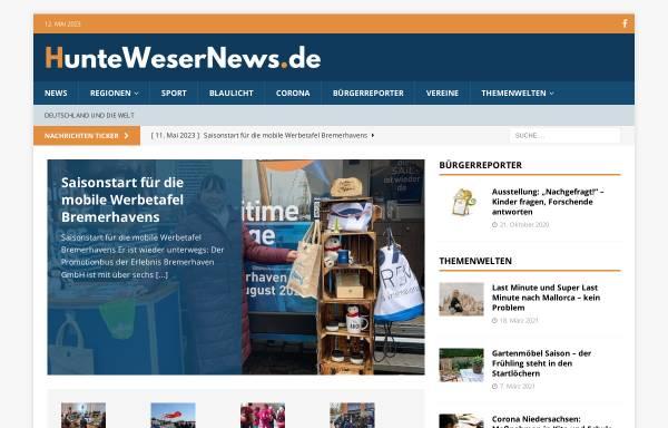 Vorschau von huntewesernews.de, HWN - Huntewesernews
