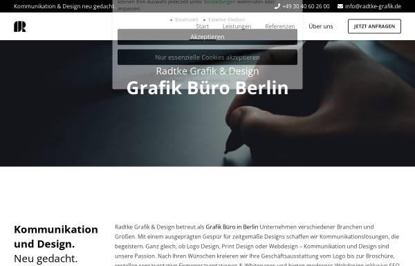 Vorschau von radtke-grafik.de, Radtke Grafik & Design