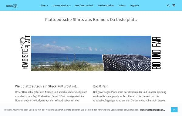 Vorschau von www.da-biste-platt.de, dabisteplatt