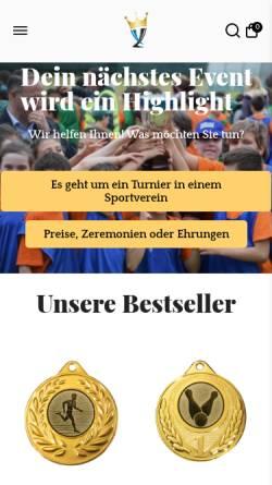 Vorschau der mobilen Webseite www.pomeki.de, POMEKI