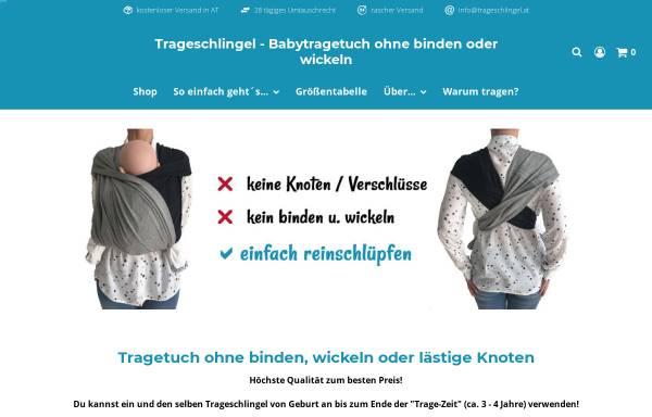 Vorschau von www.trageschlingel.at, Trageschlingel