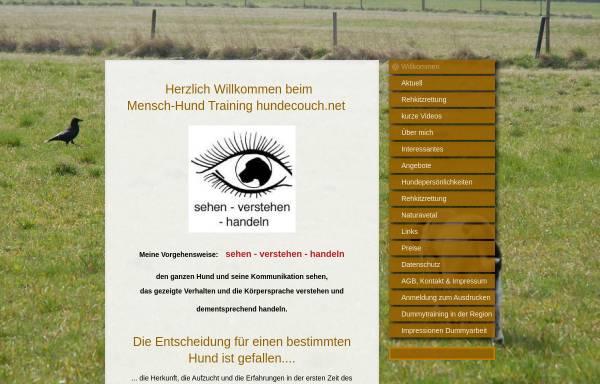 Vorschau von www.hundecouch.net, Hundecouch - Britta Ebert-Schöbel