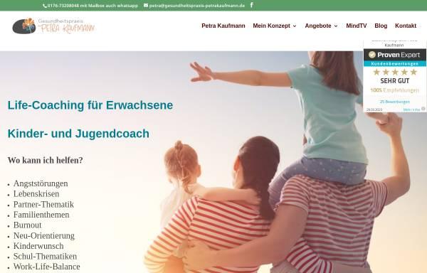 Vorschau von www.gesundheitspraxis-petrakaufmann.de, Gesundheitspraxis Petra Kaufmann