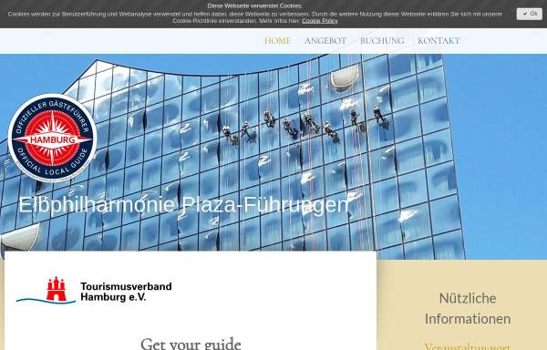 Vorschau von www.elbphilharmonie-plaza-fuehrungen.de, Elbphilharmonie Plaza-Führung
