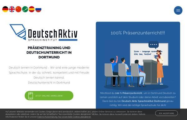 Vorschau von www.deutsch-aktiv.schule, Deutsch Aktiv Sprachinstitut
