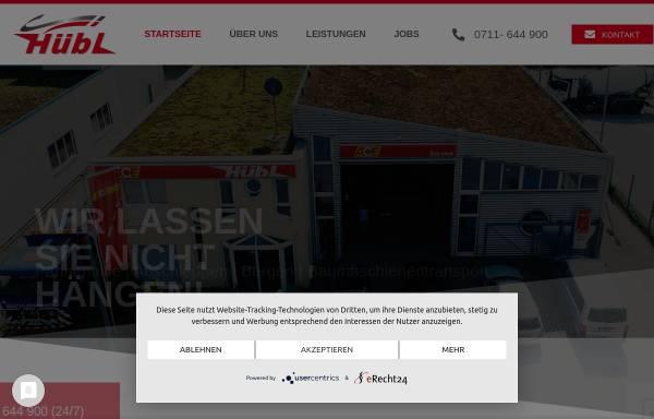 Vorschau von www.huebl-stuttgart.de, Hübl GmbH & Co KG