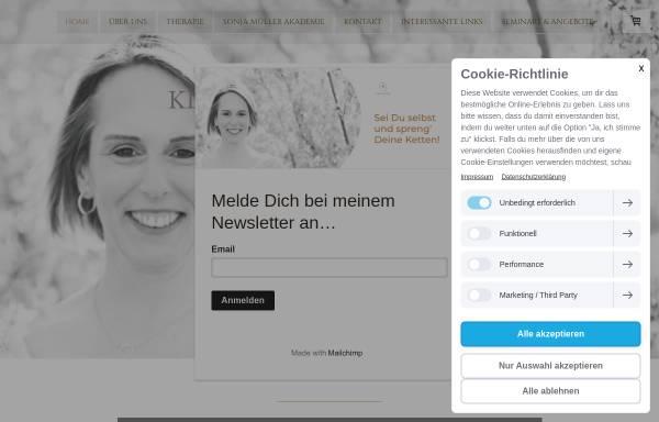 Vorschau von www.sonja-mueller-coaching.de, Sonja Müller - Coaching & mehr