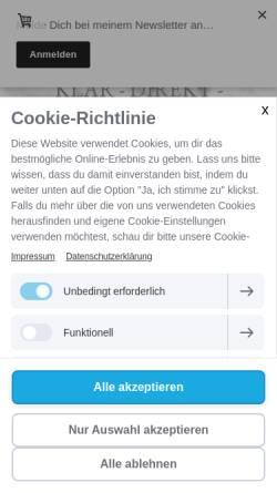 Vorschau der mobilen Webseite www.sonja-mueller-coaching.de, Sonja Müller - Coaching & mehr