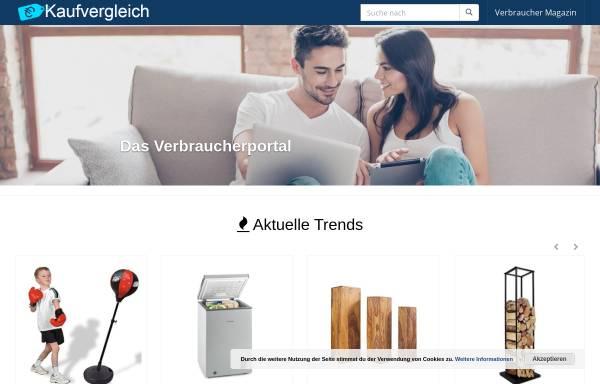 Vorschau: Kaufvergleich.de