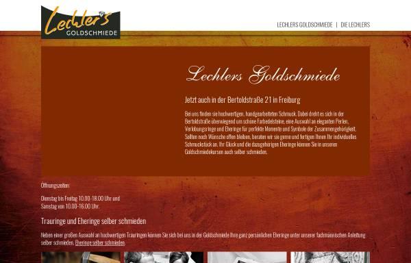 Vorschau von www.goldschmiede-lechler.de, Lechlers Goldschmiede GbR