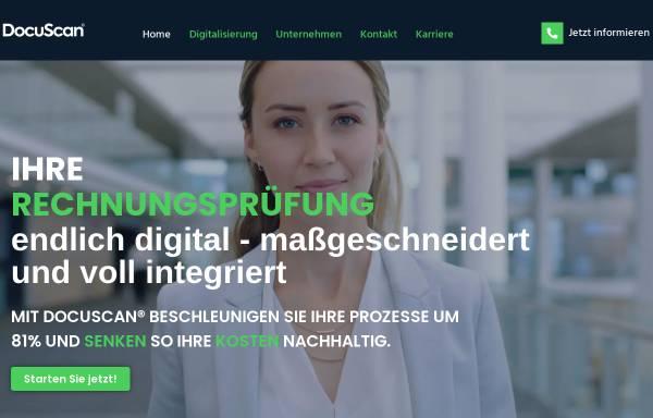 Vorschau von www.docuscan.de, DocuScan GmbH