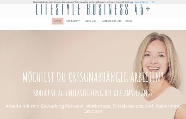 Vorschau von christianefrick.de, Lifestyle Business 45+
