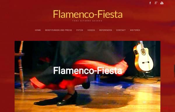 Vorschau von www.flamenco-fiesta.de, Flamenco-Fiesta