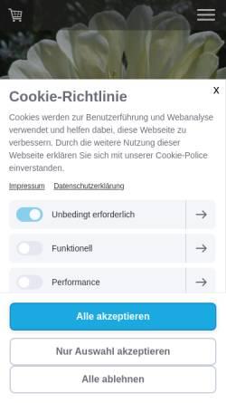 Vorschau der mobilen Webseite www.8sam-landau.de, 8sam - Manuela Klesy