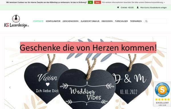 Vorschau von www.kslaserdesign.de, KS Laser-Design
