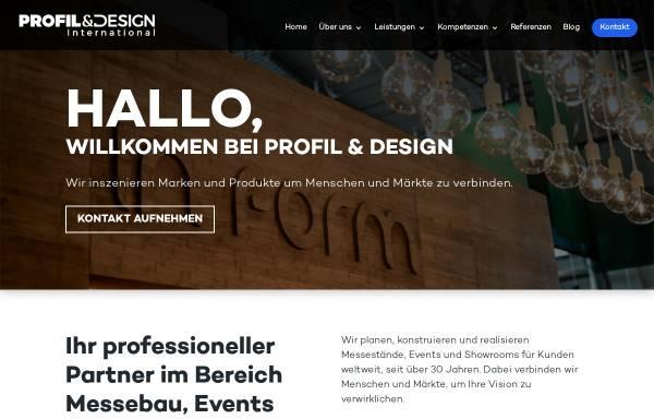 Vorschau von www.profil-design.de, Profil & Design Messebau