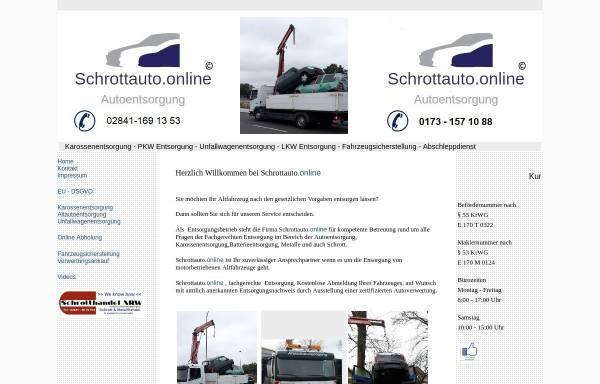 Vorschau: Schrottauto.online