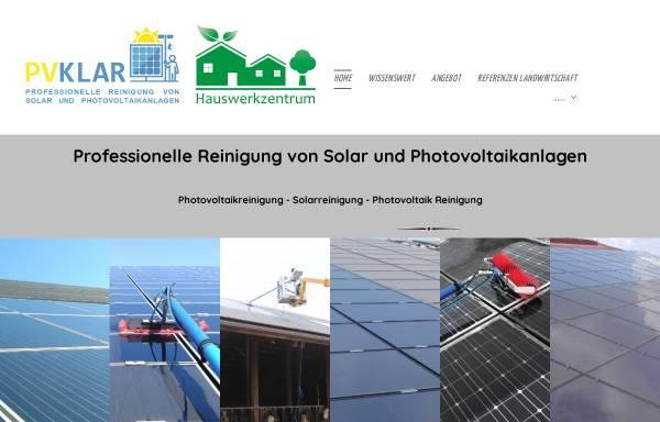 Vorschau: PVKLAR Photovoltaik Reinigung Solarreinigung