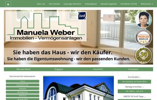 Vorschau: Manuela Weber Immobilien - Vermögensanlagen