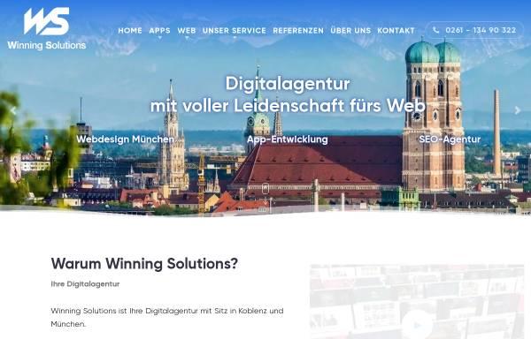 Vorschau von www.winning-solutions.de, Winning Solutions