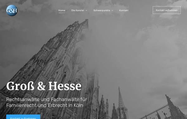 Vorschau von www.kanzlei-gh.de, Groß & Hesse Rechtsanwälte