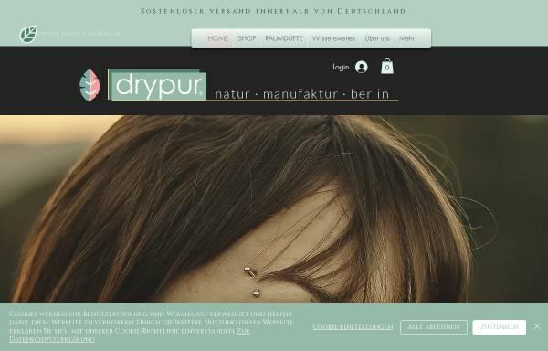 Vorschau von www.drypur.de, Drypur® Naturkosmetik