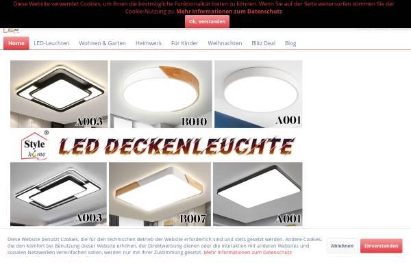 Vorschau von www.style-home.de, Style Home - Sinoma Europe GmbH
