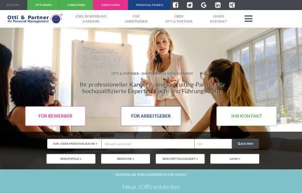 Vorschau von otti.at, Otti & Partner Management KG
