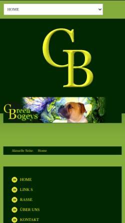Vorschau der mobilen Webseite www.bulldog-bogeys.net, Bulldog-Bogeys