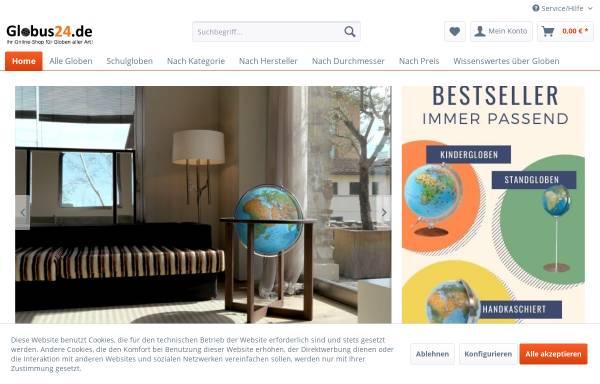 Vorschau von www.globus24.de, Globus24