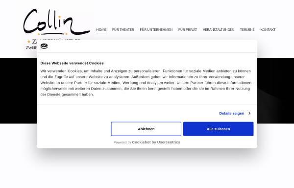 Vorschau von www.zauberer-collin.de, Zauberer Collin