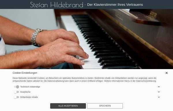 Vorschau von www.klavierstimmer-hildebrand.de, Klavierstimmer Hildebrand