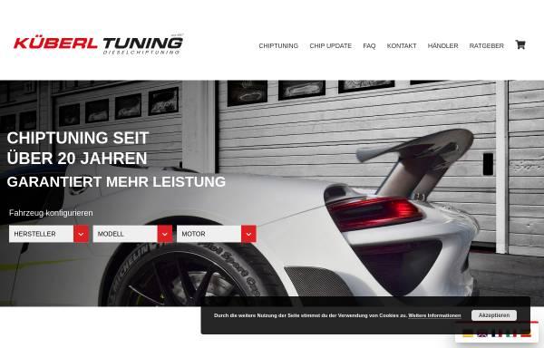 Vorschau von www.kueberl.com, Küberl Tuning