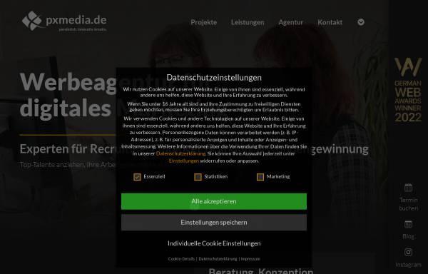 Vorschau von pxmedia.de, pxMEDIA.de GmbH