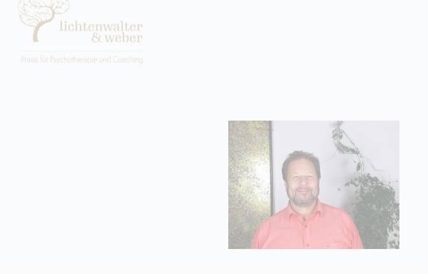 Vorschau von psychotherapie-regensburg-lichtenwalter.de, Psychotherapie Norbert Lichtenwalter Regensburg
