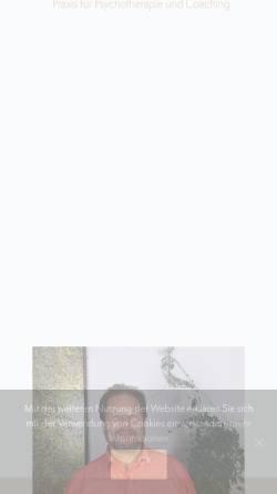 Vorschau der mobilen Webseite psychotherapie-regensburg-lichtenwalter.de, Psychotherapie Norbert Lichtenwalter Regensburg
