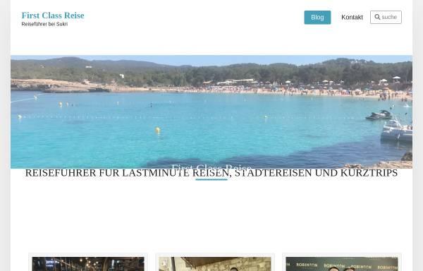 Vorschau von www.first-class-reise.de, First Class Reise