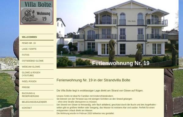 Vorschau: Villa Bolte Ferienwohnung Nr. 19