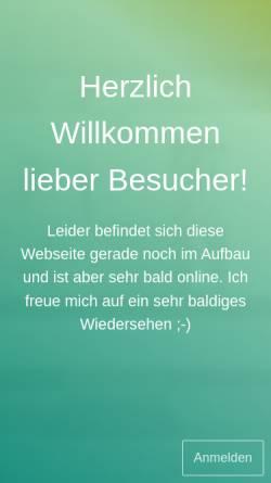 Vorschau der mobilen Webseite www.lieblingdiva.de, mein Liebling eine DIVA - Roman Plocharczyk