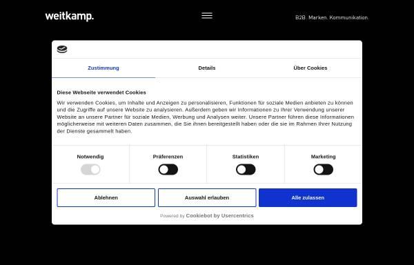 Vorschau von www.weitkamp-marketing.de, weitkamp marketing GmbH