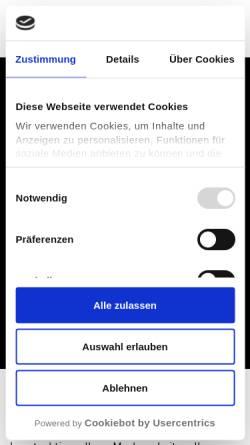Vorschau der mobilen Webseite www.weitkamp-marketing.de, weitkamp marketing GmbH
