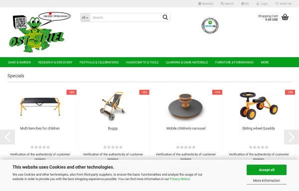 Vorschau von ost-spiel.de, OST-SPIEL