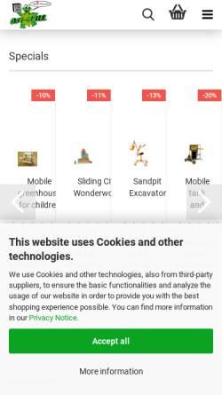 Vorschau der mobilen Webseite ost-spiel.de, OST-SPIEL
