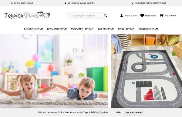 Vorschau von www.teppich4kids.de, Teppich4Kids
