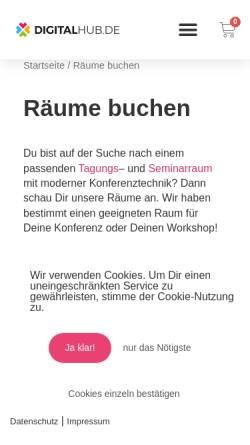 Vorschau der mobilen Webseite podium49.de, podium49
