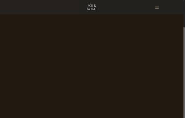 Vorschau von www.you-in-balance.de, You in Balance - Antje Wörz